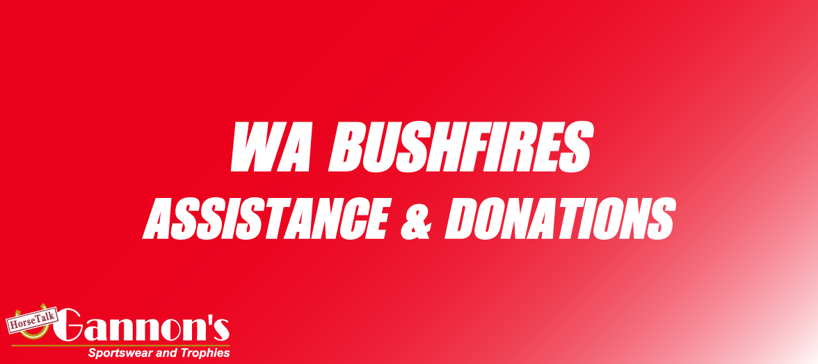 WA BUSHFIRES - donations appeal & information