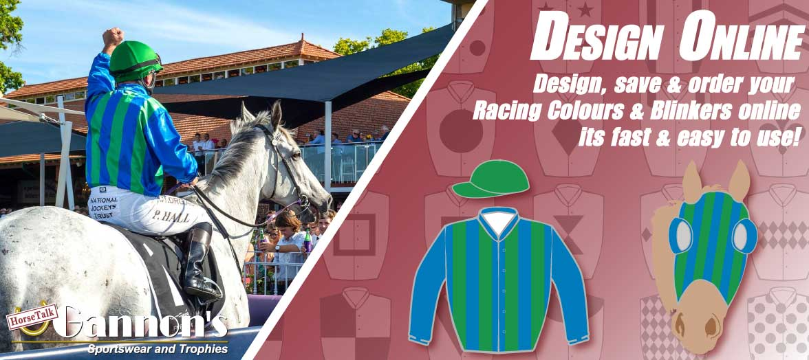 Gannon's Racing Colours | Race Colours | Jockey Silks