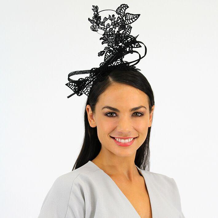 Jendi Fascinator (Black)
