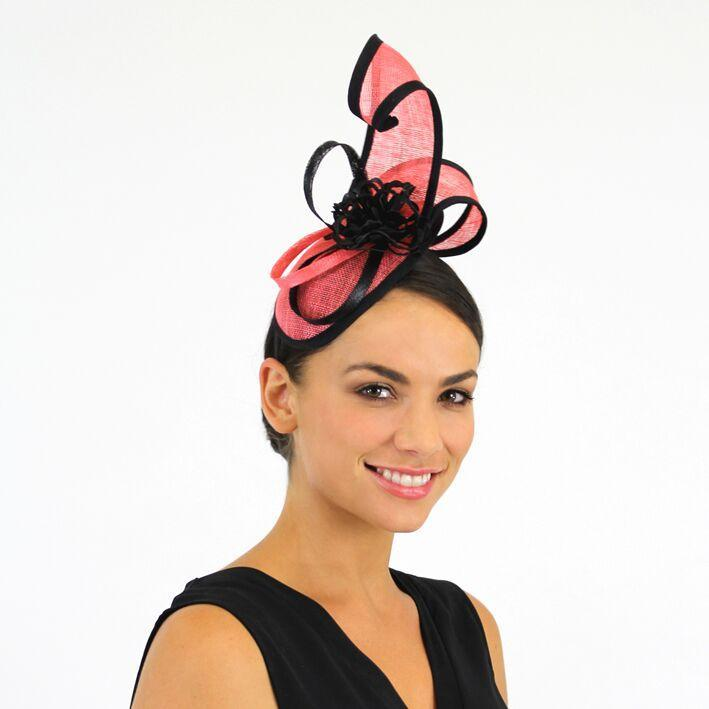 Jendi Fascinator Melon