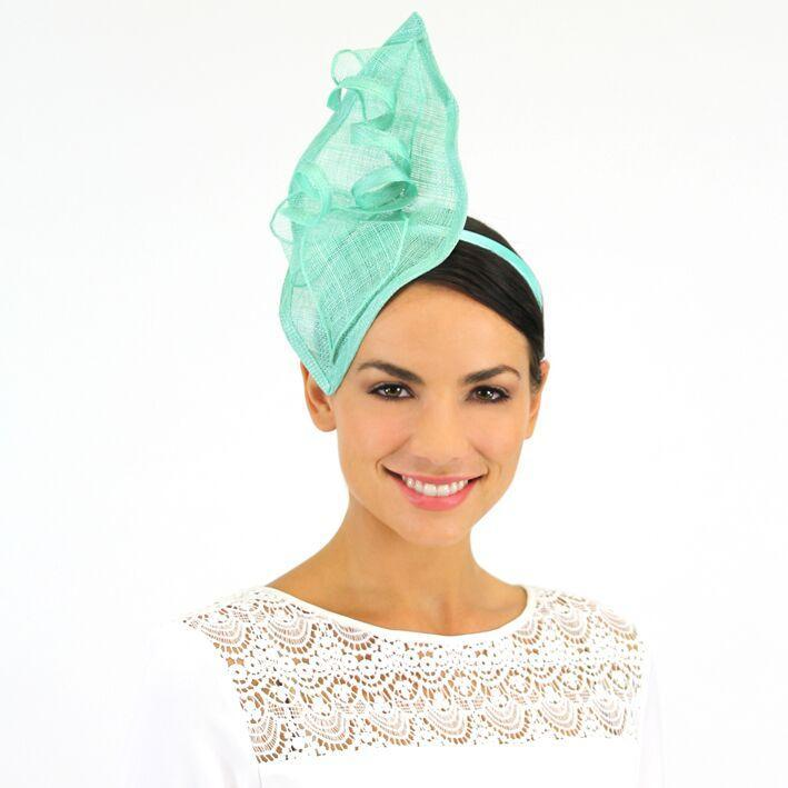 Jendi Fascinator Mint