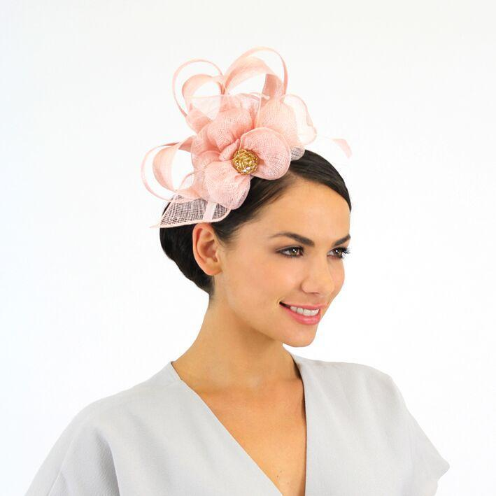 Jendi Fascinator Blush