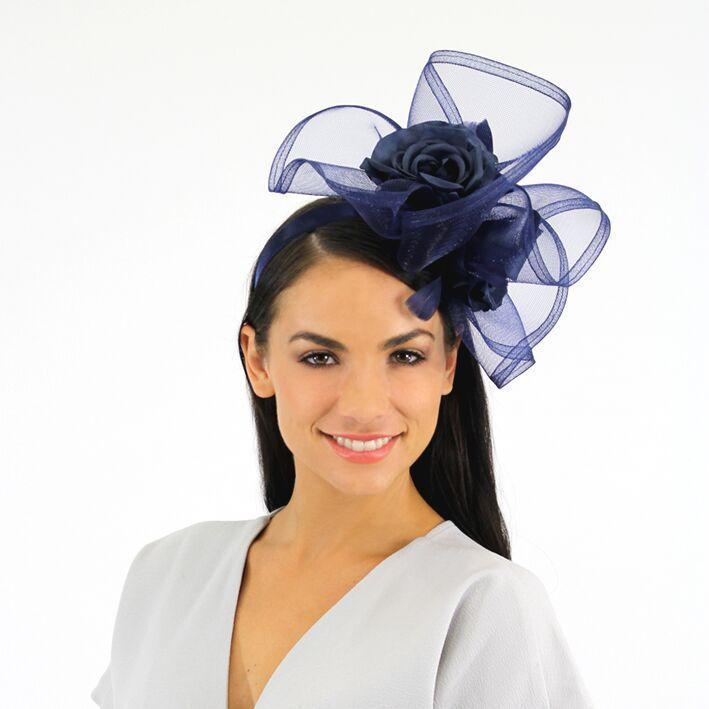 Jendi Fascinator Navy