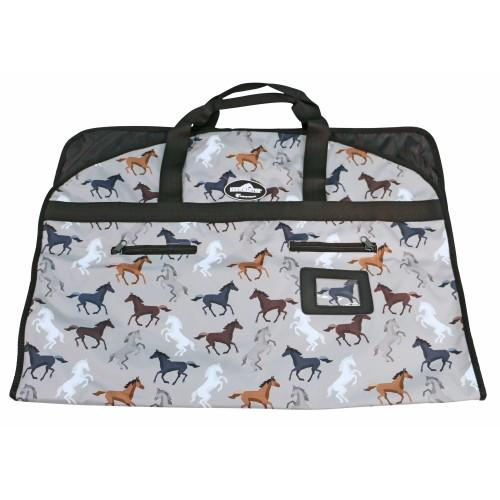 Showmaster Garment Carry Bag Horse Print