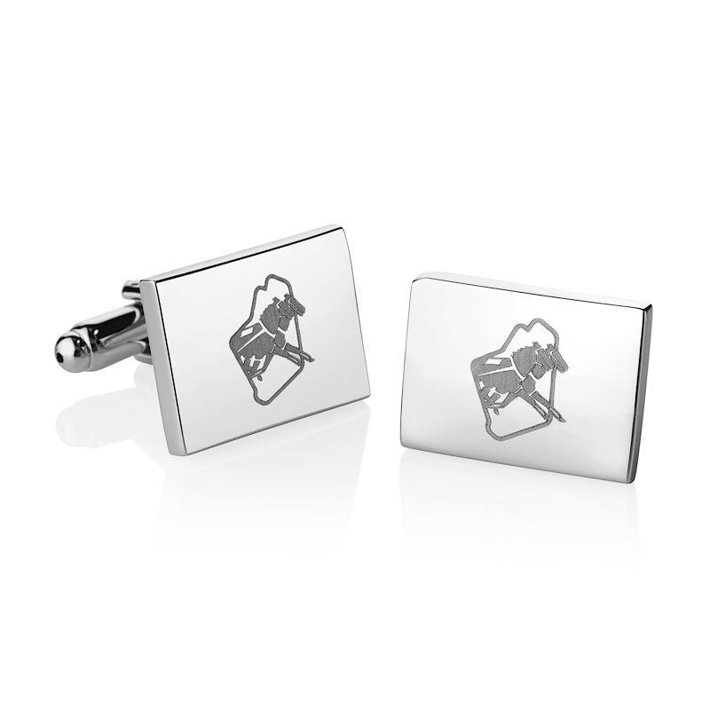 Inter Dominion Cuff Links in gift box