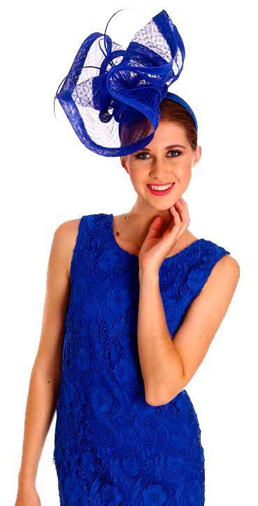 Instantly Fabulous Fascinator Dazzling Blue