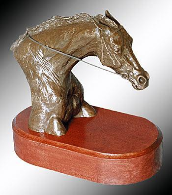 Thoroughbred Racing Head 23cm