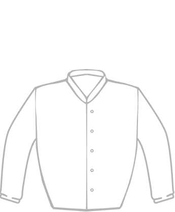 Gannon's Racing Colours - Jacket Outline